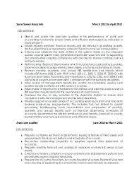 Auditor Resume Example U2013 70 Elegant Internal Auditor