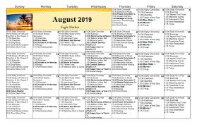 Calendar Doc 2019 August Grand Haven Copper Harbor Calendar Doc Pomeroy