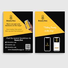 Make Flyer App Flyer Design On Behance