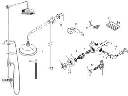 bristan trinity exposed dual valve with diverter and rigid riser kit ty2 cshxdiv c