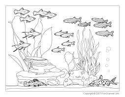 Small Picture Scenery Coloring Pages