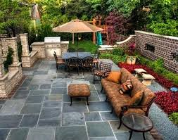 simple patio ideas on a budget. Cheap Backyard Patio Ideas Fire Pit Contemporary  With Stacked Stone Diy . Simple On A Budget O