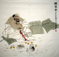 chinese painting the sheeping old man laotou chinese painting cnag241353 artisoo com