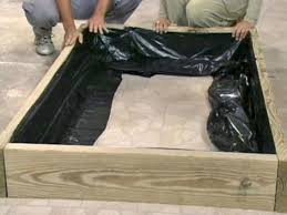 building a raised bed vegetable garden