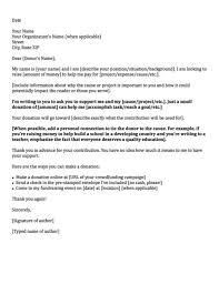 donation request letter school sample donation request letter template business