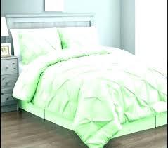dark forest green bedding emerald duvet cover linen set cotton sateen