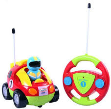 Cartoon R/C Race Car Radio Control Toy for Toddlers Top Baby Toys For Kids of all ages - Girls and Boys