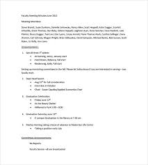 Meeting Note Taking Template Enchanting Meeting Notes Template 48 Free Word PDF Documents Download