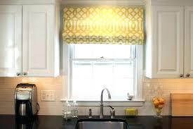 kitchen window treatments diy treatment ideas