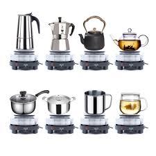 ELHATOP11 giảm 9% tối đa 1TR5] Bếp Điện mini pha cà phê, pha trà, nấu nước không  kén nồi và ấm, giá chỉ 199,000đ! Mua ngay kẻo hết!