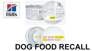 hill s pet nutrition voluntarily recalls canned dog food due to potentially elevated vitamin d levels