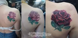 реставрация татуировки коррекция тату после заживления
