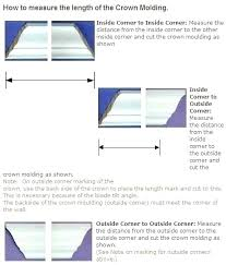 Angles Crown Molding Chart Cutting Crown Molding