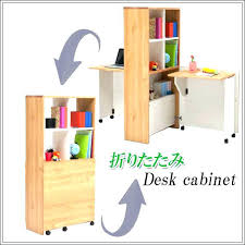 compact office cabinet. Compact Office Desk With Shelves Cabinet Shelf Folding