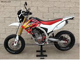 our honda crf250l supermoto conversion