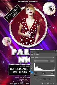 Learn How To Create A Dynamic Party Flyer In Photoshop Entheos