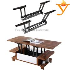 save furniture. high quality furniture hardware coffee table mechanism save place and fashion hinge b09