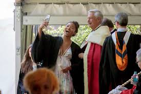 Just after receiving her diploma, Yin... - University of the South    Facebook