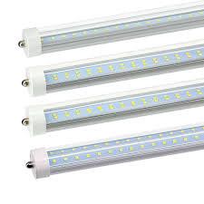 Great Value T8 T12 Led Light Bulbs 4 25 Pack Cnsunway 8ft Led Tube Light Bulbs Fa8 Single Pin 45w 72w 6000k 7200lm