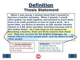 argument essay thesis statement argumentative essay first