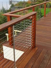 diy cable deck railing ideas