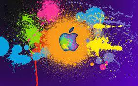 Apple Colorful Logo 4k, HD Computer, 4k ...