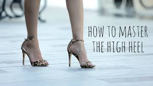 How to Walk In High Heels Without Tripping - YouTube