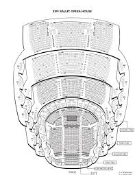 ziff ballet opera house seating chart