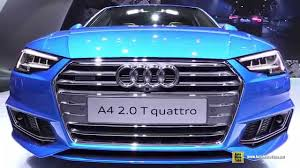 2016 Audi A4 2.0T Quattro S-Line - Exterior and Interior ...