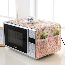 microwave oven covers kitchen gadgets home storage organize bag easy to clean european style cloth dust