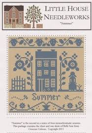 Summer Monochromatic Series Cross Stitch Chart