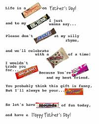 candy bar posters for dad by joanne
