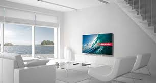 lg tv argos. image of a living room deorated in white with large lg super uhd 4k tv lg tv argos