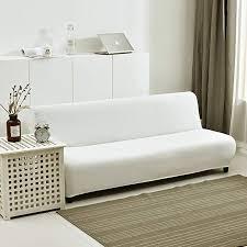 hm dx stretch armless sofa bed cover