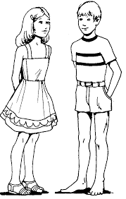 Girl And Boy Drawing For Kids Free Download Best Girl And Boy