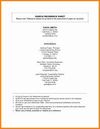 Sample Reference List For Teacher Resume Best Of Resume Reference