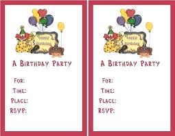 Free Party Invitation Templates Online To Print Wedding Maker