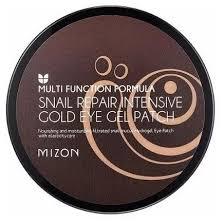 <b>Mizon</b> Гидрогелевые <b>патчи</b> для глаз <b>Snail Repair</b> Intensive Gold ...