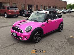 mini cooper convertible pink. hot pink mini cooper s convertible