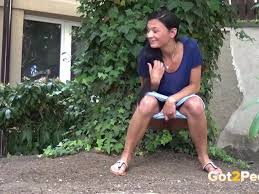 Piss outdoor girls compilation outdoor