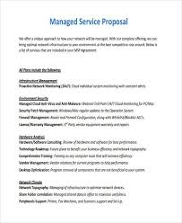 business services template free 18 service proposal examples in pdf word pages