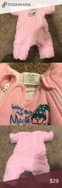 Merlin S Magic Sleepsuit Sizing Chart Baby Merlins Magic Sleepsuit Sleep Sack Large Pink Merlin