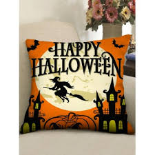 [35% OFF] 2020 <b>Halloween Theme Patterned Decorative</b> Pillowcase ...
