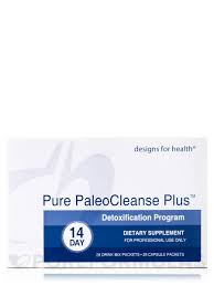 Designs For Health Paleo Cleanse Pure Paleocleanse Plus Detox Program 14 Day Supply