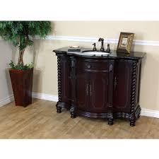 Dark mahogany furniture Reproduction Bathroom Vanities 48 In Single Sink Vanity Wood Dark Mahogany Black Galaxy 600161dm Amazoncom 48 In Single Sink Vanity Wood Dark Mahogany Black Galaxy 600161dm