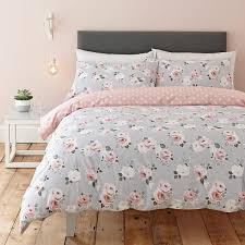 paper rose bedding set