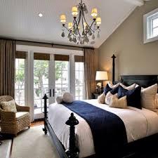 navy blue master bedroom decor