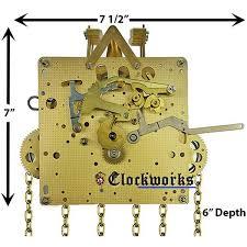 451 series hermle clock movements