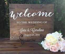 rustic wood wedding sign wedding welcome sign rustic wedding decor country wedding