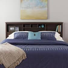 Everett Espresso King Bookcase Headboard - Free Shipping Today -  Overstock.com - 11127144